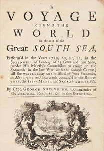 A Voyage Round the Word by Way of the Great South Sea<